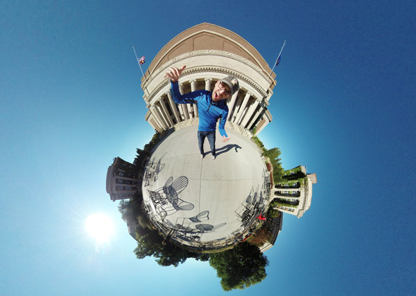 Northrop Tiny Planet