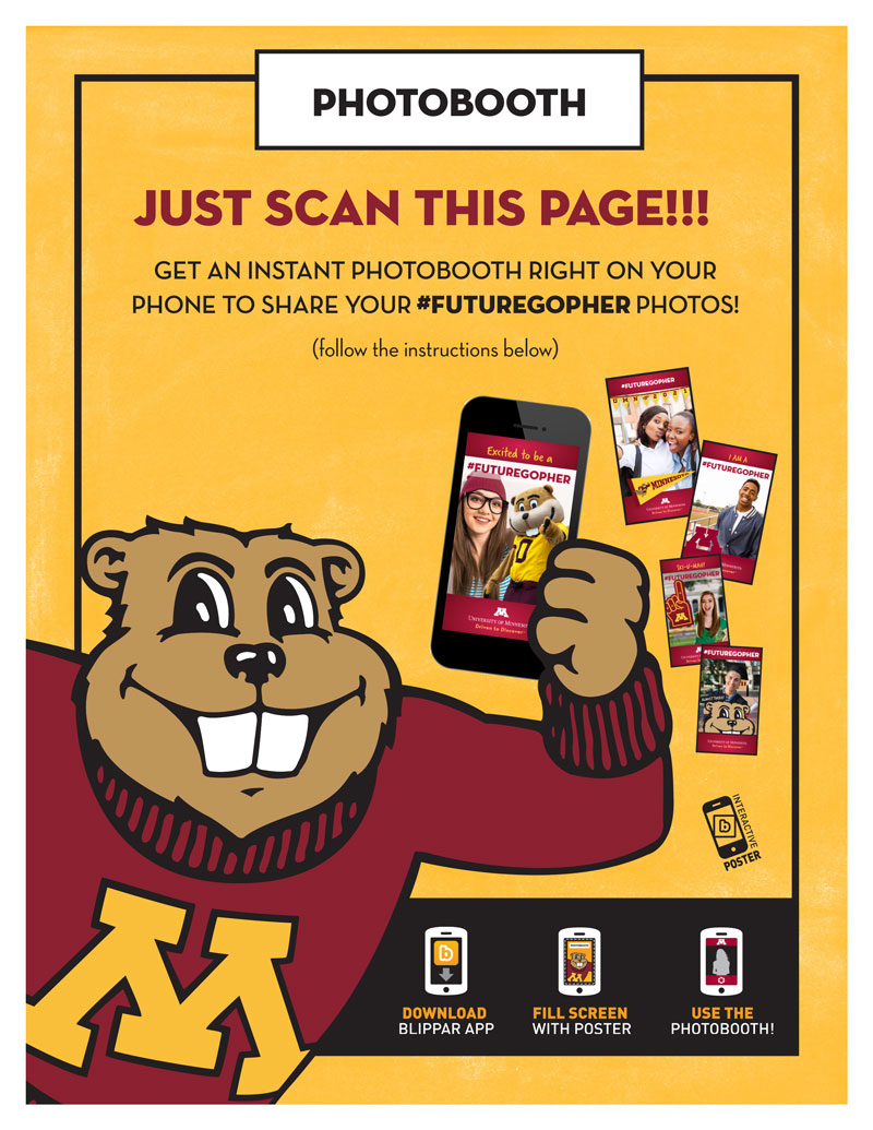 FutureGopher Photobooth Poster