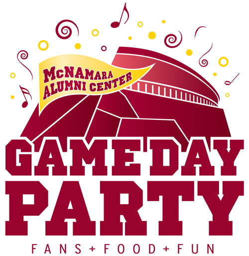 Gameday Party Logo