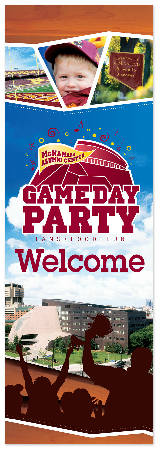 Gameday Welcome Banner