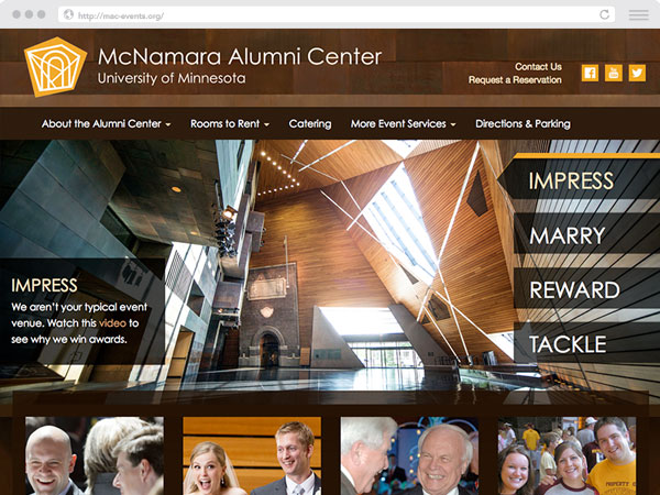McNamara Alumni Center Preview